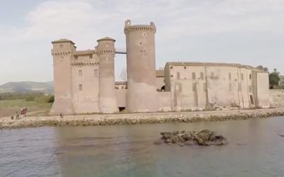 Riapertura del Castello DI Santa Severa con nuove tecnologie olografiche emozionali