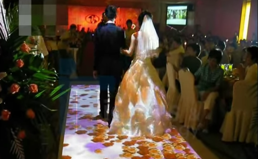 WEDDING INTERACTIVE FLOOR