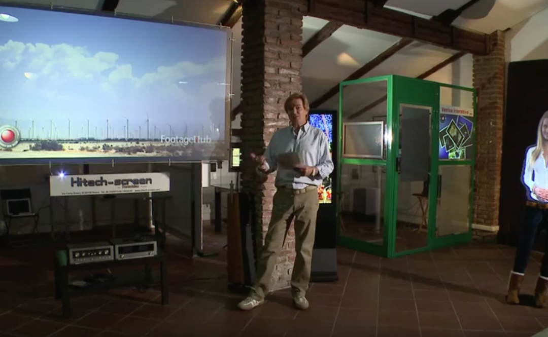 Holographic Screen Meeting in Ideas & technology