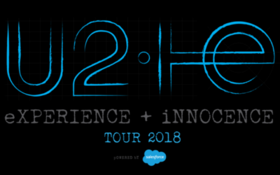 U2 eXPERIENCE + iNNOCENCE Tour 2018 con Nexnovo Transparent-Led