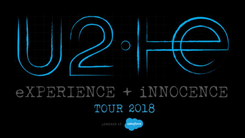 U2 eXPERIENCE + iNNOCENCE Tour 2018 con Nexnovo Transparent-Led