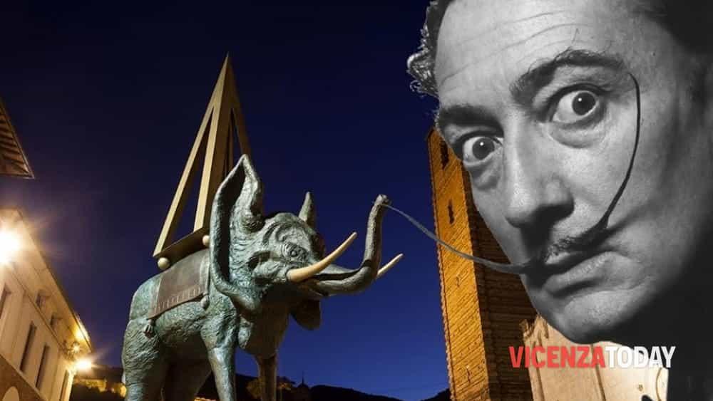 Salvador Dalí – a Vicenza oro